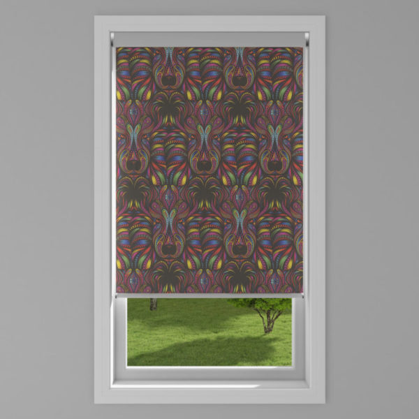 Aslan Blackout Rainbow Roller Blind